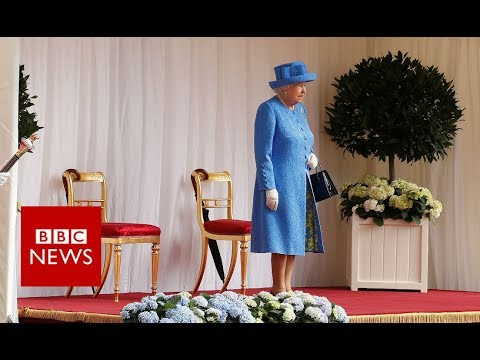 Donald Trump Said Queen Elizabeth Made Him Wait 15 Minutes Despite Video That Shows Her Waiting for Him