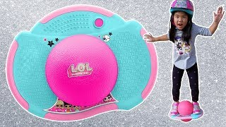 New LOL Surprise POGO IT | L.O.L. + Little Tikes Pogo-It Balancing Bouncing Game Review