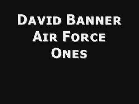 David Banner Air Force Ones
