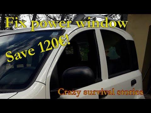 Fiat Panda Window Regulator Repair Roll Cog Motor Pulley