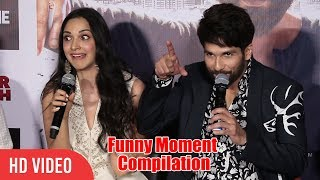 Back 2 Back Hilarious Funny Moment | Kabir Singh Trailer Launch | Shahid Kapoor, Kiara Advani
