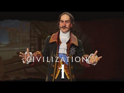 Civilization 6 на божестве! Серия №3: Играем за Россию на последнем уровне сложности!