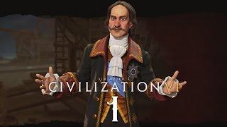 Прохождение Civilization 6 #1 - MAKE RUSSIA GREAT AGAIN! [Россия - Бессмертный]