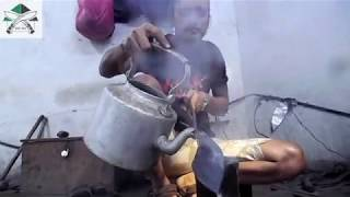 Khukuri making process at KHHI 2017