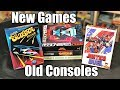 NEW GAMES for NES, SNES & Atari 2600
