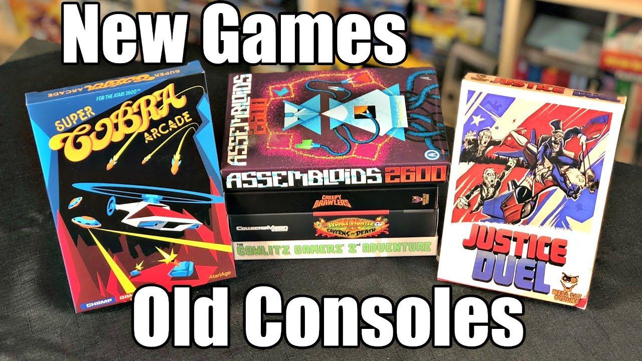 NEW GAMES for NES, SNES & Atari 2600