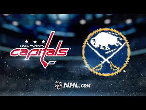 Ovechkin, Carlson lead Capitals past Sabres, 3-2