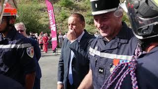 Inauguration du CS CASSAGNOLES | Sapeur Pompier de l'Hérault (SDIS 34)