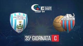 Virtus Francavilla - Catania Calcio 1-0 Highlights