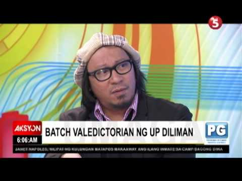 lourd de veyra graduation speech youtube