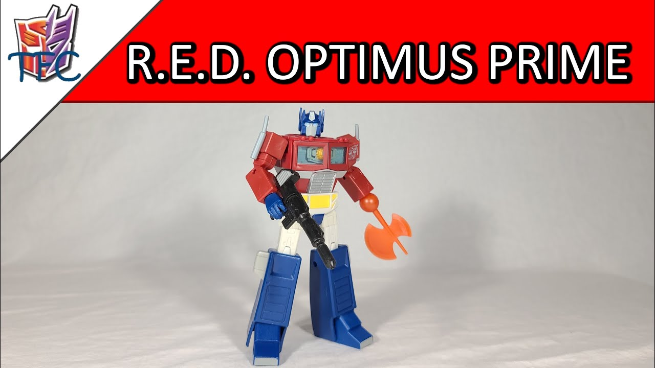 TF Collector R.E.D. Optimus Prime Review!