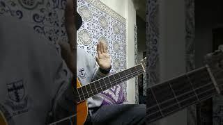 هاينة واش حاتم عمور و اسماء المنور hayna wach cover guitar