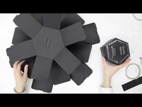 DIY Explosion Box Scrapbook (Tower)