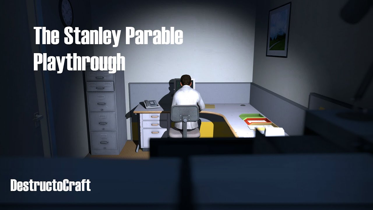 The Stanley Parable Playthrough Part 1 Horrible Directions ...