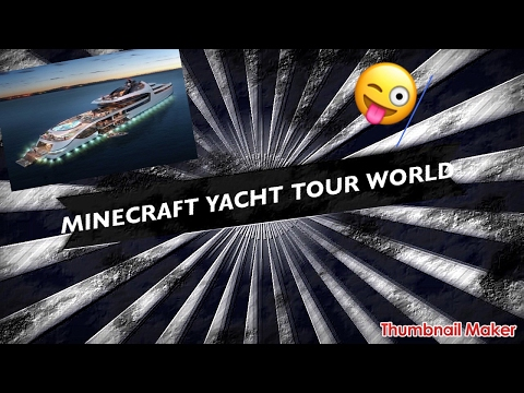 Minecraft Yacht world tour |Titanic exclusive
