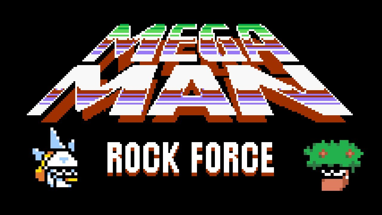 Subzero Man and Garden Man play Mega Man Rock Force