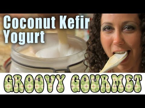 Vegan Raw Dairy-free Coconut Kefir Yogurt - Groovy Gourmet 1.2