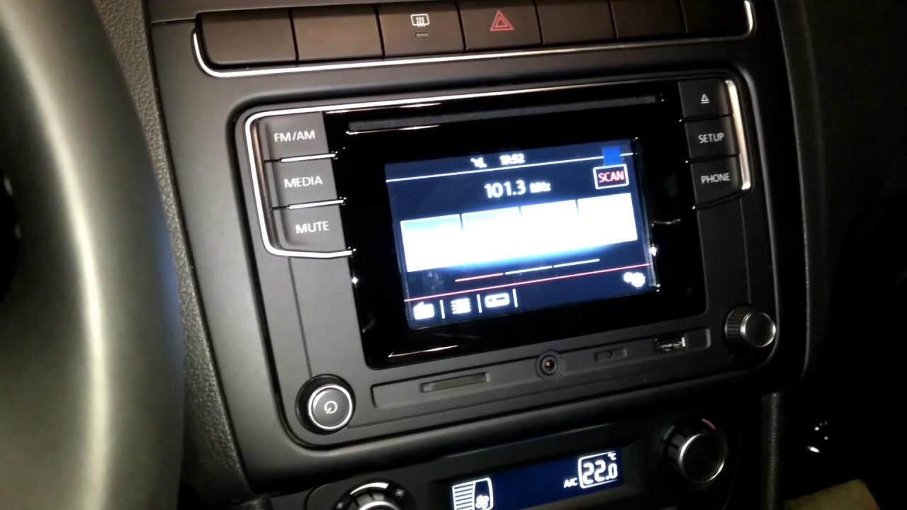 Desbloquear estéreo VW Vento 17 - YouTube