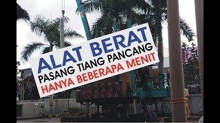 ALAT BERAT PASANG TIANG PANCANG HANYA 10 MENIT