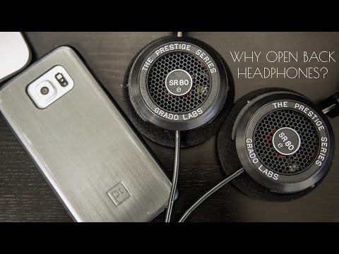 Why I wear open back headphones?