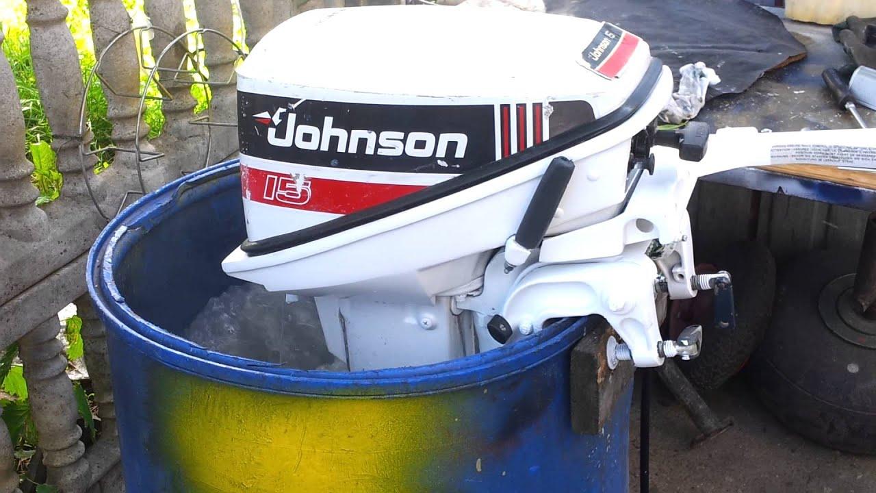 1996 johnson 15 hp outboard motor 2 stroke dwusuw youtube rh youtube com johnson 15 hp outboard manual johnson 15 hp outboard manual