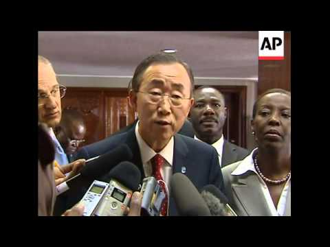 UN Secretary-General in Rwanda over threatened Sudan pullout