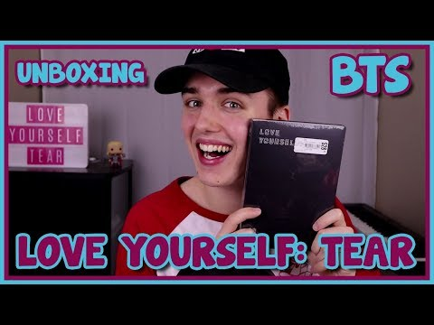 BTS - LOVE YOURSELF 轉 'TEAR' ALBUM UNBOXING [SO BEAUTIFUL]