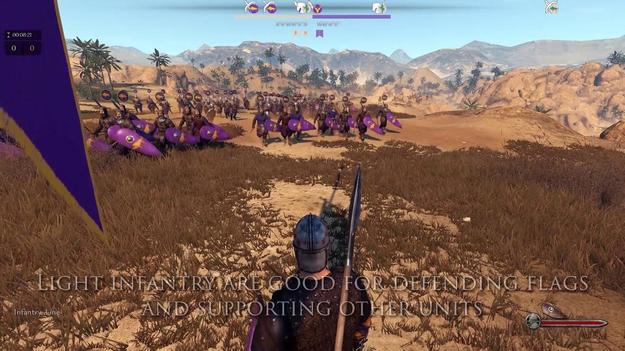 Mount Blade Ii Bannerlord Captain Mode Youtube