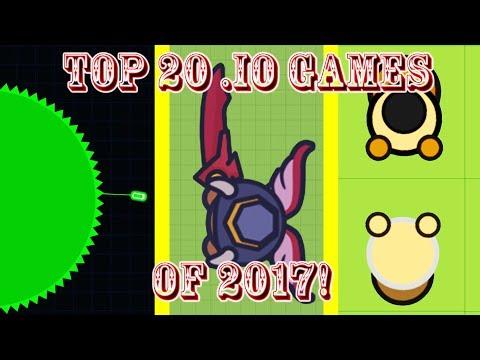 Top 20 Best .io Games of 2017!