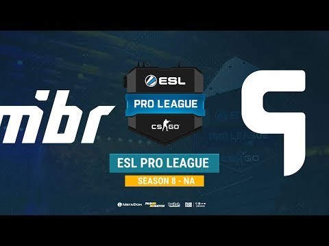 MIBR vs Ghost - ESL Pro League S8 NA - bo1 - de_mirage [SSW, Anishared]