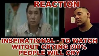 Inspirational- Try To Watch Without Crying 90% People Cry REACTION