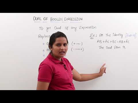 Dual of Boolean Expression
