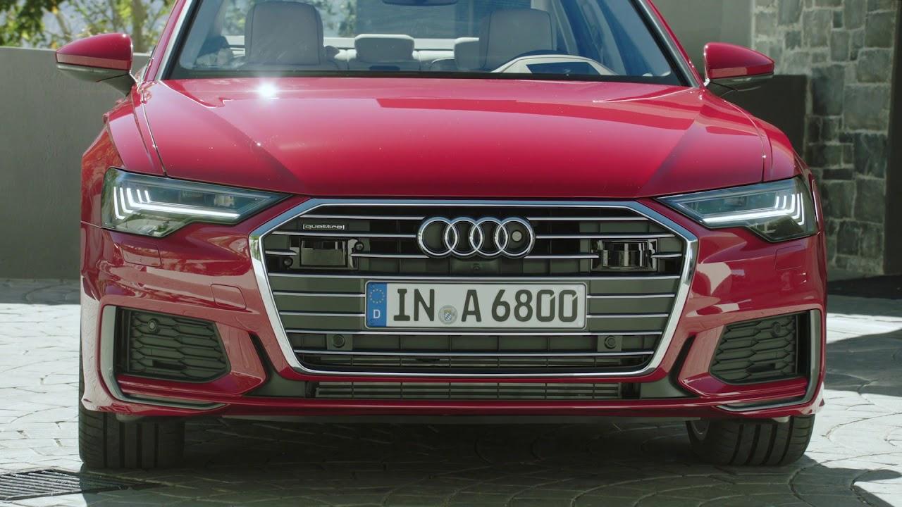2019 Audi A6 Sedan Hd Matrix Led Headlights Tail Lights Youtube