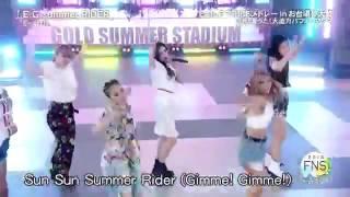 E-girls E.G. summer RIDER うたの夏まつり 2016 0718.