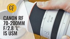 Canon RF 70-200mm f/2.8 'L' IS USM lens review with samples