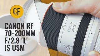 Canon RF 70-200mm f 2 8 39 L 39 IS USM lens review with samples