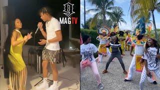 "Lil Baby & ""GF"" Jayda Wayda Celebrate Her B-Day In Turks And Caicos! 🏝"