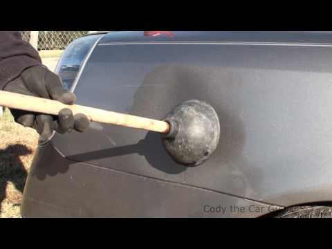 Car Hacks dent removal simple and easy