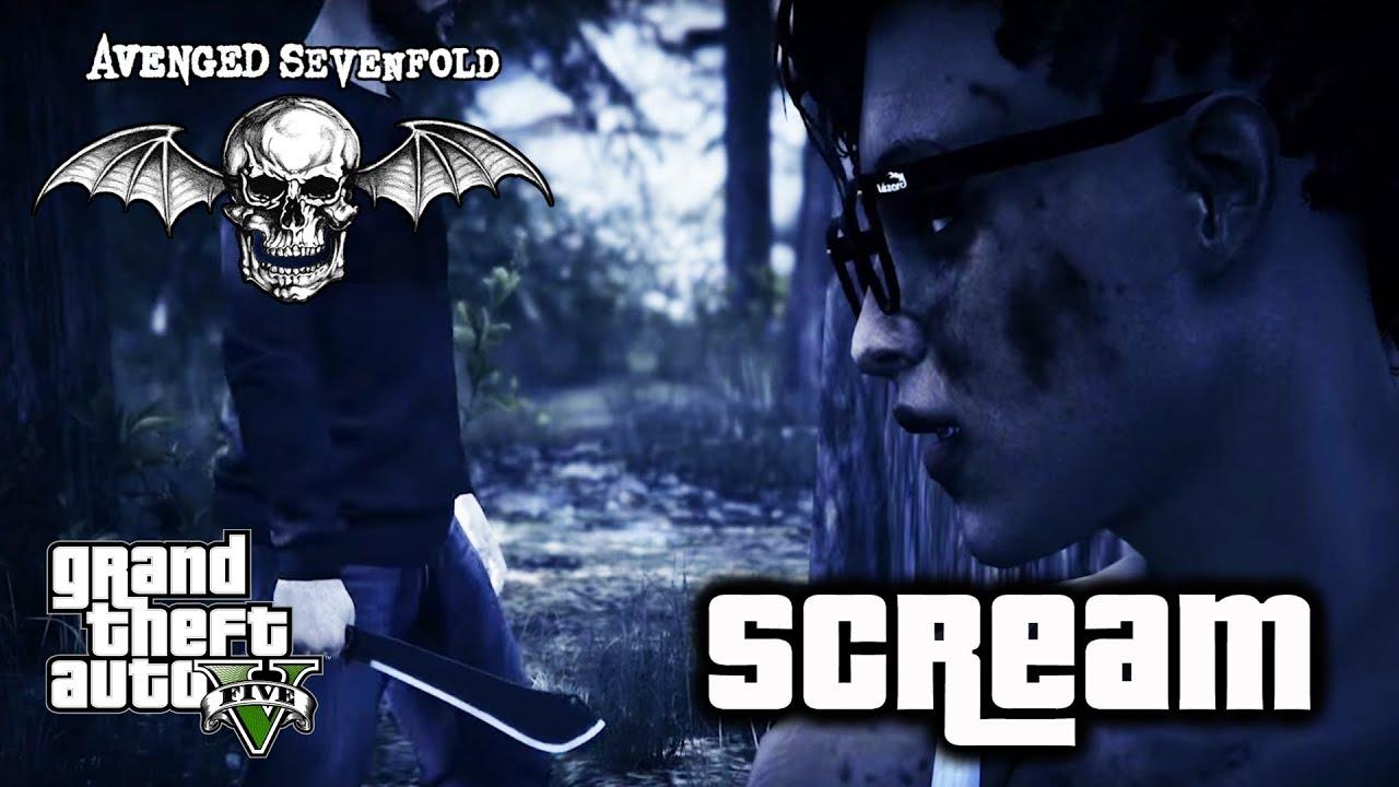 avenged sevenfold scream gtav music video youtube