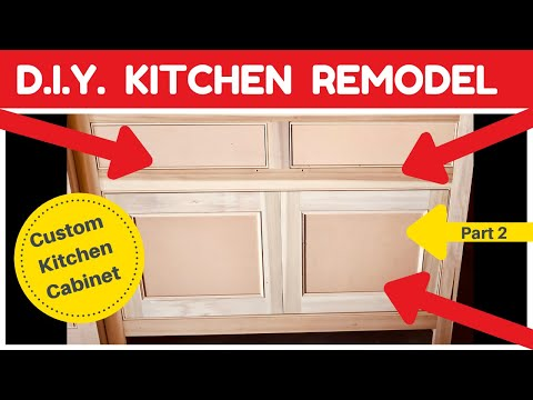 DIY Kitchen Remodel – Custom Cabinet Build – Part 2