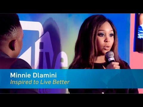 Inspired to Live Better | Minnie Dlamini | Live Better Talks