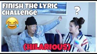 Finish the lyrics challenge (Hilarious)