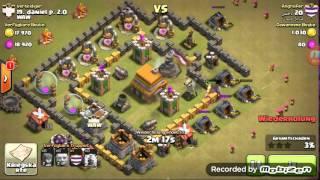LetsPlay Clash of Clans#1 Clankrieg Wiederholungen