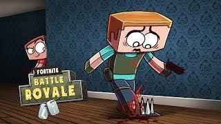 Minecraft Fortnite - KILL EVERYONE CHALLENGE! (Fortnite Battle Royale Mod)