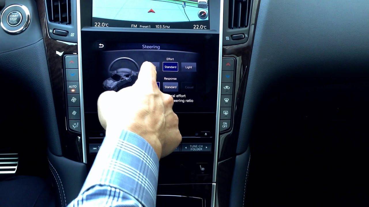 Infiniti Q50 Customizing Steering Response Youtube 2015 Wiring Diagram