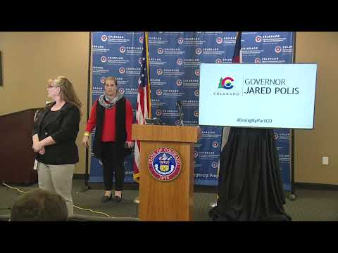 News Conference: Gov. Jared Polis, Dr. Marc Moss, MD, Discuss Colorado Latest On COVID-19