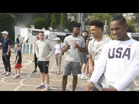 Syracuse Basketball Team In Picture Perfect Lake Como, Italy