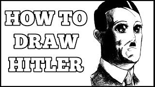 HOW TO DRAW HITLER