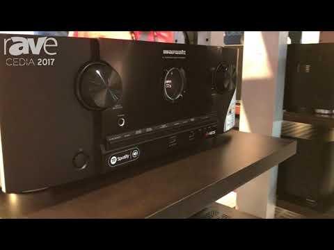 CEDIA 2017: Marantz Shows SR5012 AV Surround Receiver at Sound
