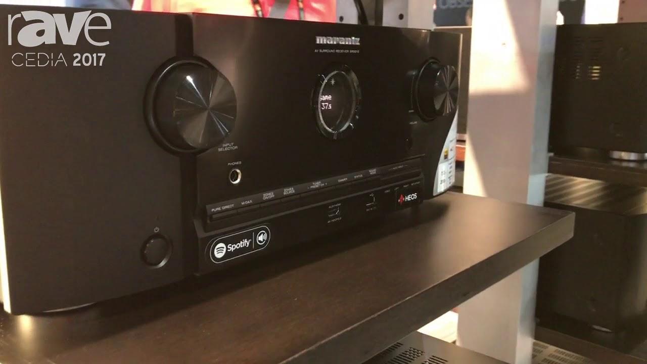 CEDIA 2017: Marantz Shows SR5012 AV Surround Receiver at Sound United Booth
